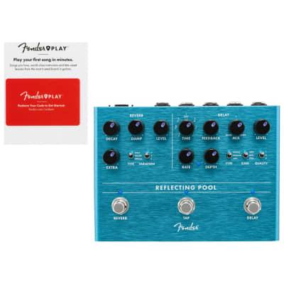 Fender 0234546000 Reflecting Pool Delay/Reverb w/ Fender Play Card