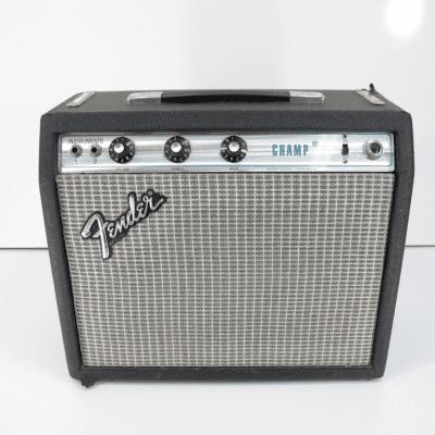 Fender Champ Silverface 1980/81 Vintage Guitar Tube Combo Amplifier Amp