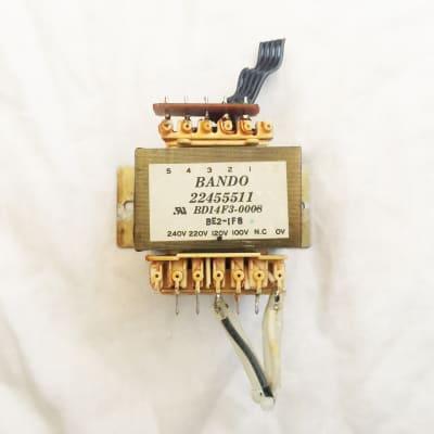 Roland D-20 D-10 D-70 Original Power Transformer BANDO 22455511. Works Great !