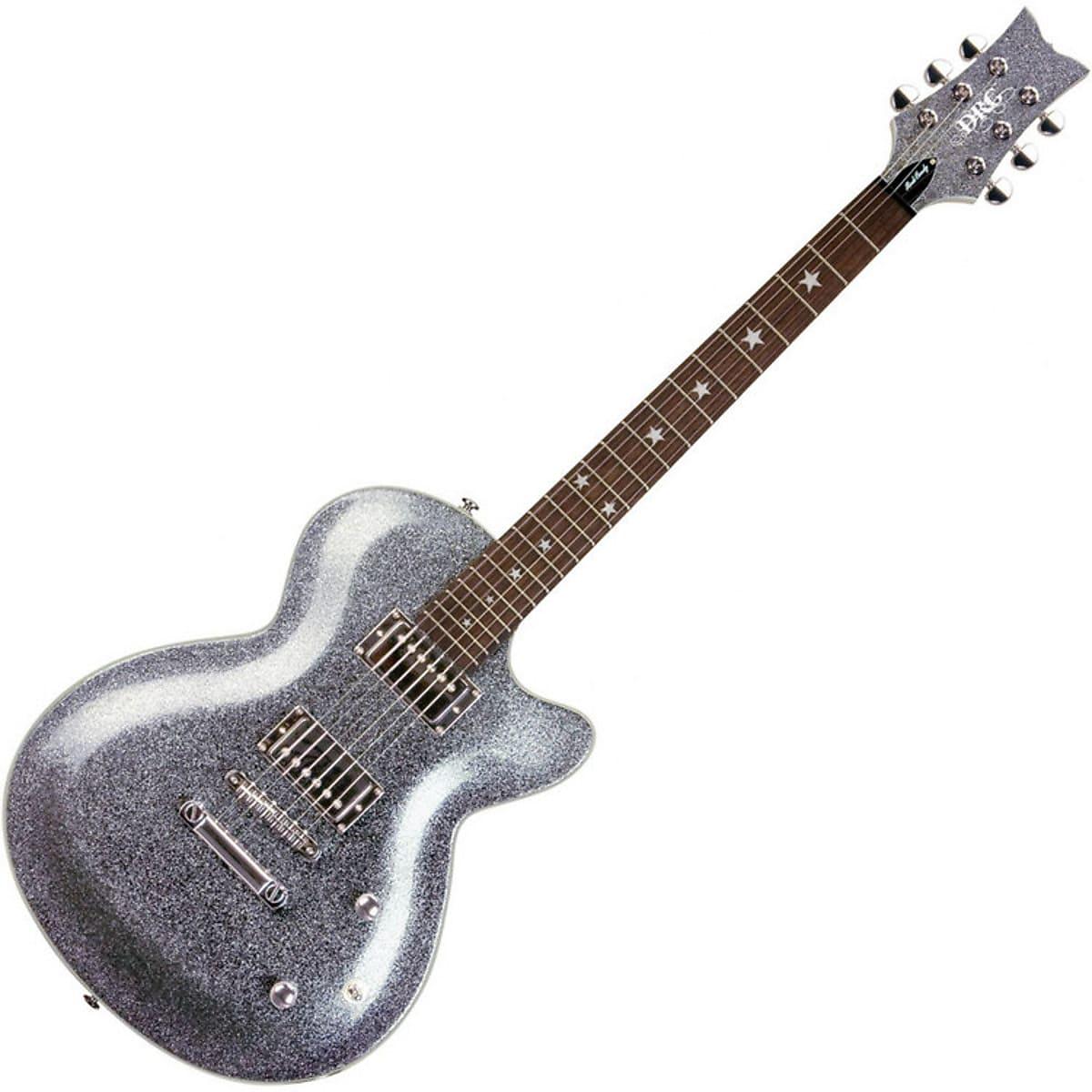 Daisy Rock DR6759 Rock Candy Classic Singlecut Electric Guitar Platinum Sparkle