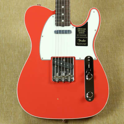 Fender American Original '60s Telecaster Custom - 2018 - Fiesta Red for sale