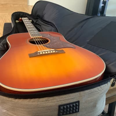 Epiphone Inspired By Gibson Hummingbird 2020 Aged Antique Natural Gloss