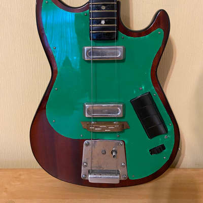 Futurama Ritm-Solo Electric Guitar USSR Russian Soviet Vintage for sale
