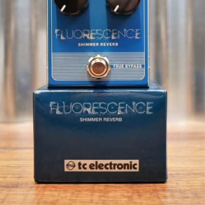 TC Electronic Fluorescence Shimmer Reverb Guitar Effect Pedal
