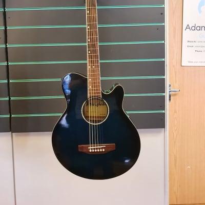 Westfield JBEA35 Trans Blue Electro Acoustic Guitar for sale