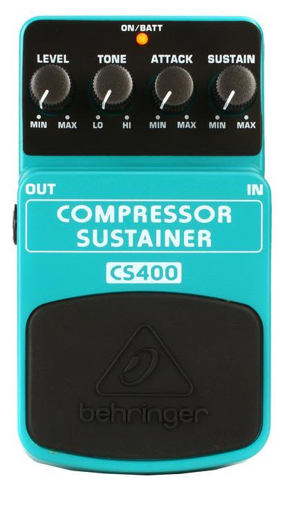 behringer cs400 compressor sustainer pedal gearnuts reverb. Black Bedroom Furniture Sets. Home Design Ideas