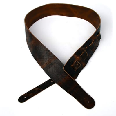 """Guitar & Bass strap """"Wakertone"""" LGS-1 Lux 2019  Hand made"""