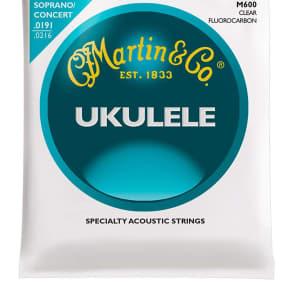 Martin M600 Soprano/Concert Ukulele Fluorocarbon Strings