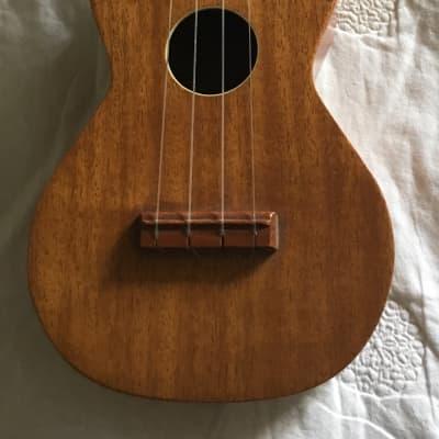 Vintage 1950's Roy Smeck Genuine Mahogany Soprano Ukulele  USA Made by Harmony for sale