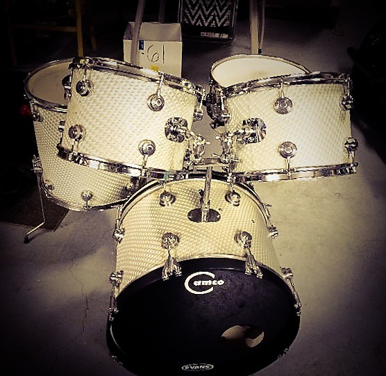 Camco Drum Set 1967 3d Moire We Got The Beat Global Drum Reverb
