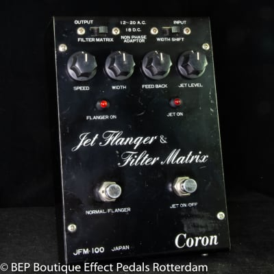 Coron JFM-100 Jet Flanger & Filter Matrix 1981 Japan with SAD1024 Reticon BBD