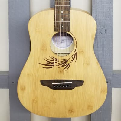 Luna Safari Bamboo Travel Guitar w/Gigbag