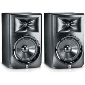 "JBL LSR308 8"" 2-Way Powered Studio Monitor (Pair)"