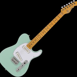 G&L Tribute ASAT Special Electric Guitar Surf Green for sale