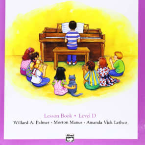 Alfred 00-3131 Alfred's Basic Piano Prep Course - Lesson Book (Level D)