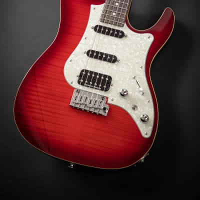 FGN FGN (Fujigen) Odyssey - JOS-FM-R Trans Red Burst for sale
