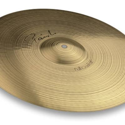 Paiste 18 Inch Signature Series Full Crash Cymbal with Bright & Warm Sound Character (4001418)