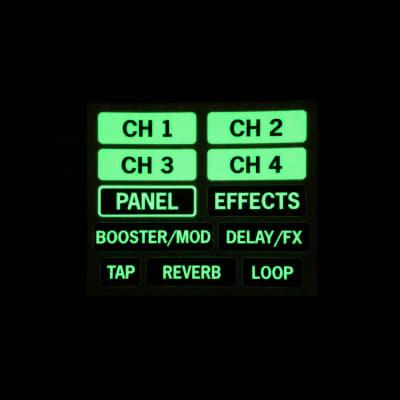 Boss Katana Footswitch Glow Labels