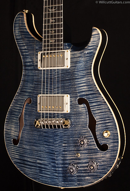 Prs Hollowbody Ii Artist Package Faded Whale Blue 978