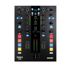 Mixars Duo MKII 2-Channel DJ Battle Mixer for Serato DJ