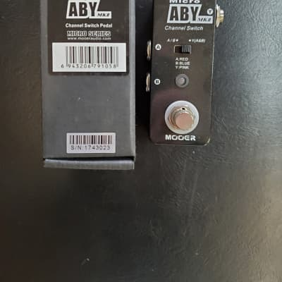 Mooer  Micro Series ABY MKII ABY Switch