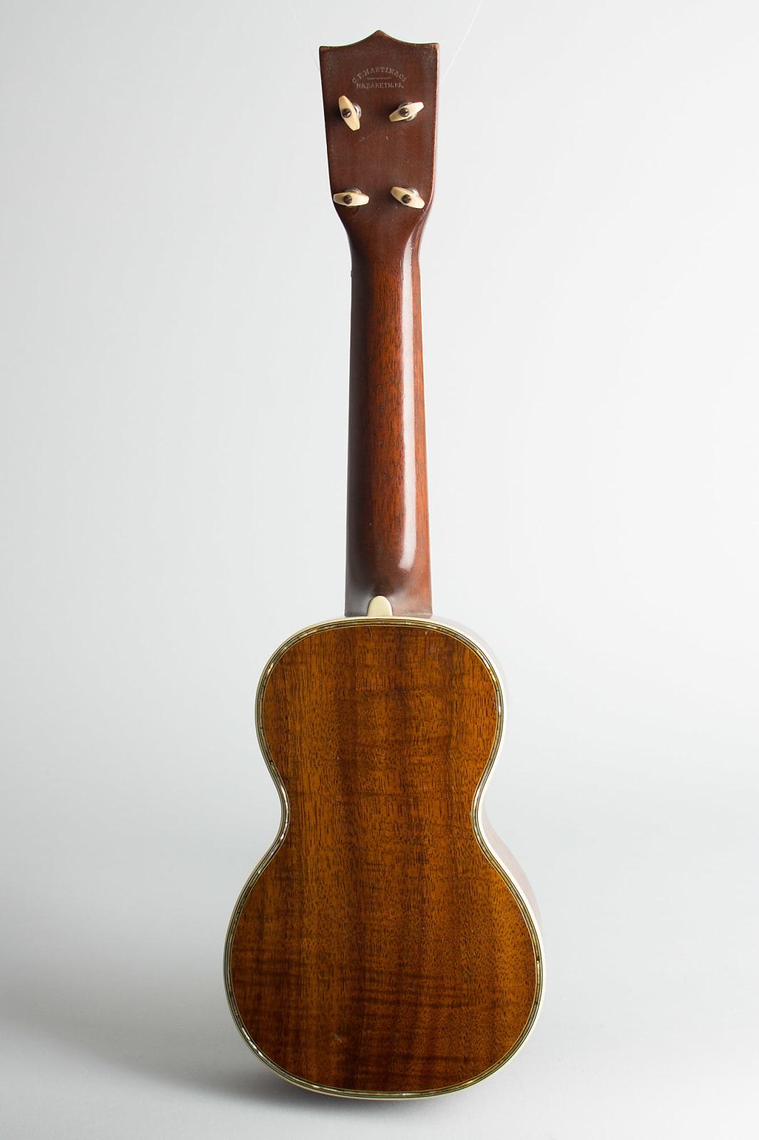 C. F. Martin  Style 5K Soprano Ukulele,  c. 1924, original black hard shell case.