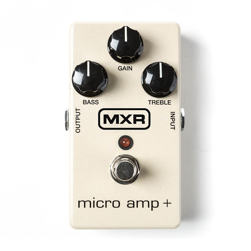 mxr m233 micro amp classic boost guitar effect pedal reverb. Black Bedroom Furniture Sets. Home Design Ideas