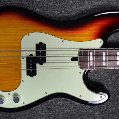 "*ONE-OF-A-KIND* Lakland Skyline 44-64 Custom, 3-Tone Sunburst with 1.5"" Jazz Taper Neck & Rosewood"