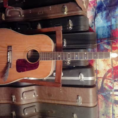 Old Kraftsman N-6 Dreadnaught Acoustic Late 60's-early 70's Natural W/Binding for sale