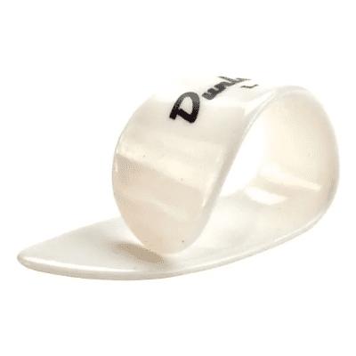 Dunlop 9002R Plastic Medium Banjo Thumbpicks (12-Pack)
