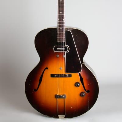 Gibson  ETG-150 Arch Top Hollow Body Electric Tenor Guitar (1940), ser. #938F-4, period black hard shell case.