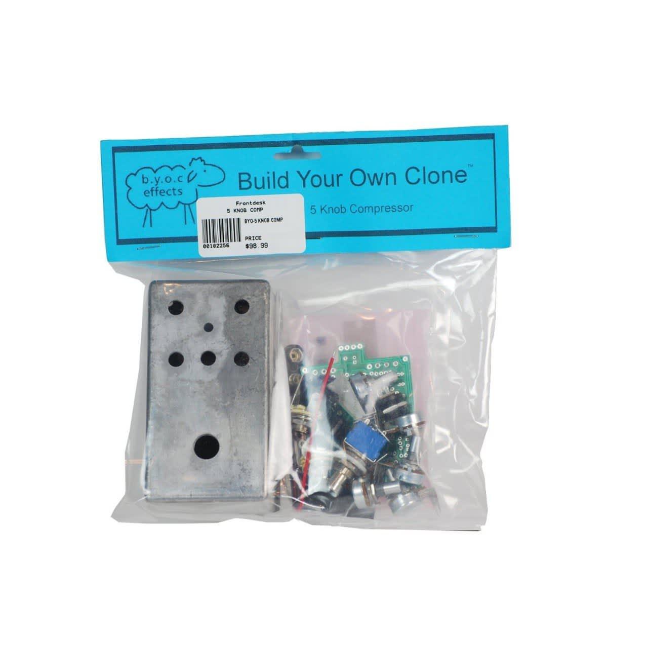 Build Your Own Clone  Knob Compressor