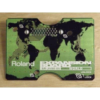 "Roland SR-JV80-05 ""world"" ROM module"