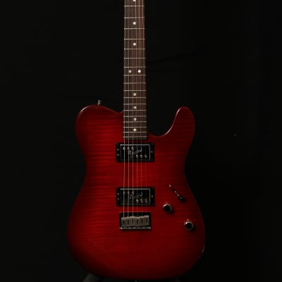 Fender  Fender American Telecaster Trans Red Flamed Top  2013 Trans Red for sale