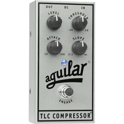 Aguilar TLC Compressor (Silver 25th Anniversary Limited Edition) For Bass Guitars for sale