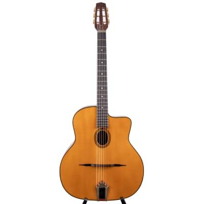 "Anton Sandner Favino Gypsy Jazz-Gitarre mit ""Petite Bouche"" 2021/ Nr.11 LFM1 for sale"
