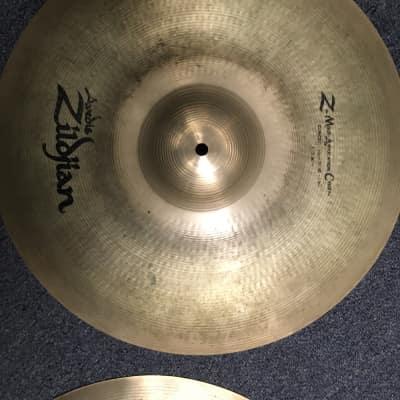 Zildjian Zmac Crash Cymbal Pair