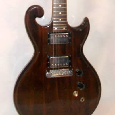 1976 Epiphone Scroll SC-350 *Natural Walnut* Original for sale