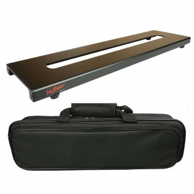 """Effect Pedalboard Mini w Bag 18"""" x 5""""Inches Free 2 Day Shipping"""