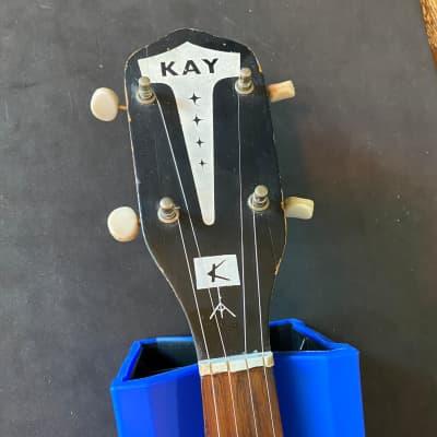 Vintage Kay Banjo 60s with Resonator K65T for sale