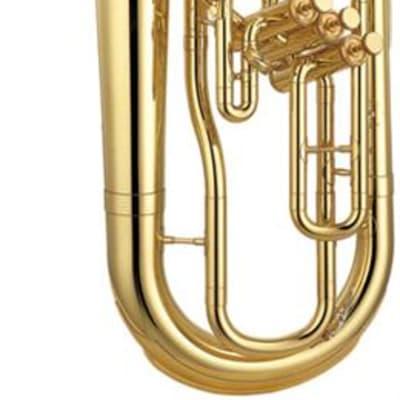 Yamaha YEP-211 'Bell Front' Marching Euphonium, Lacquer Finish