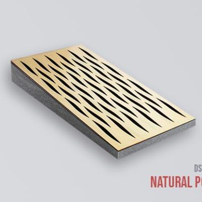 Decosorber Mini Eva - Acoustic Sound Absorber Panel (12 Pack) - Natural Poplar