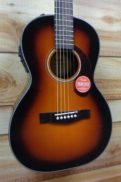 6258fcad14f New Fender® CP140SE Parlor Acoustic Electric Guitar Sunburst | Reverb