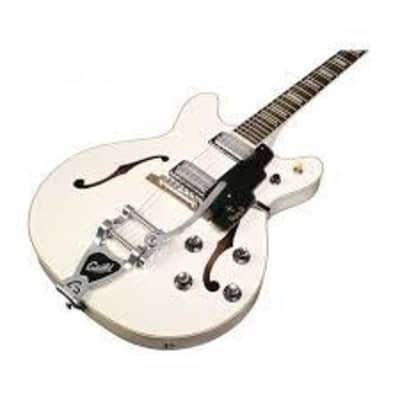 Guild Starfire V w/ Guild Vibrato Tailpiece Snowcrest White – 3792205826B– MSRP$1,710 for sale