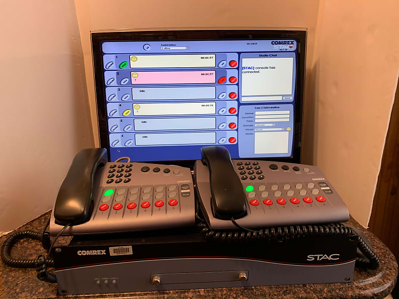 Image result for comrex on hold