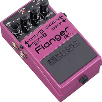Boss BF-3 Flanger Guitar Pedal for sale