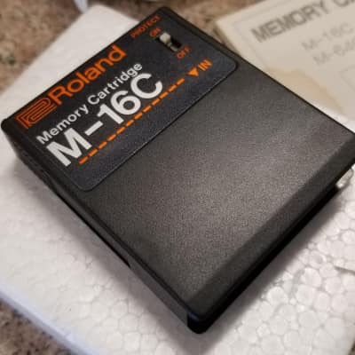 Roland M-16C  - Synth Sample Cartridge for GR-700  Synth