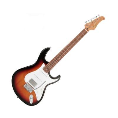 Cort G260CS Electric Guitar 3 tone Sunburst Alder Body Roasted Maple Neck 3 tone sunburst