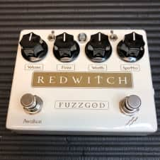 Red Witch Fuzz God II 2003 Hand Signed!