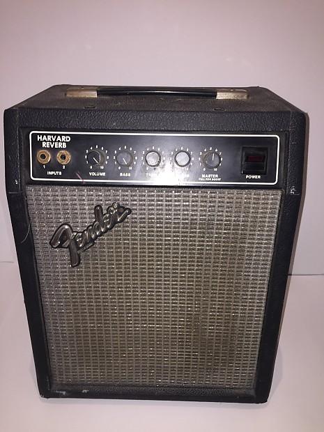 vintage 1980 39 s fender harvard reverb guitar amp reverb. Black Bedroom Furniture Sets. Home Design Ideas